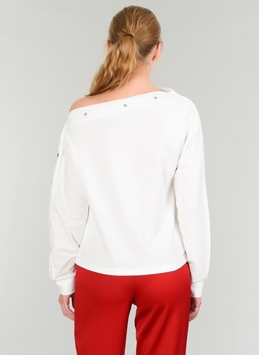 Çıtçıtlı Sweatshirt-People By Fabrika